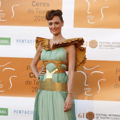 Laura Pamplona en la entrega de los Premios Ceres 2015