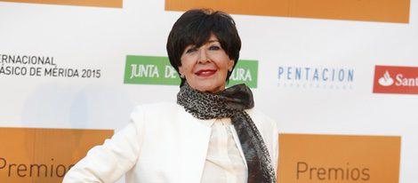 Concha Velasco en la entrega de los Premios Ceres 2015