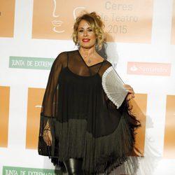 Miriam Díaz Aroca en la entrega de los Premios Ceres 2015