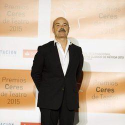 Antonio Resines en la entrega de los Premios Ceres 2015