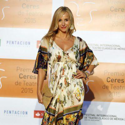 Mar Regueras en la entrega de los Premios Ceres 2015