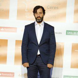 Juan Pablo Shuk  en la entrega de los Premios Ceres 2015