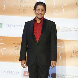 Pedro Casablanc en la entrega de los Premios Ceres 2015