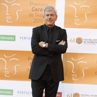 Carlos Sobera en la entrega de los Premios Ceres 2015