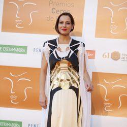 Natalia Millán en la entrega de los Premios Ceres 2015