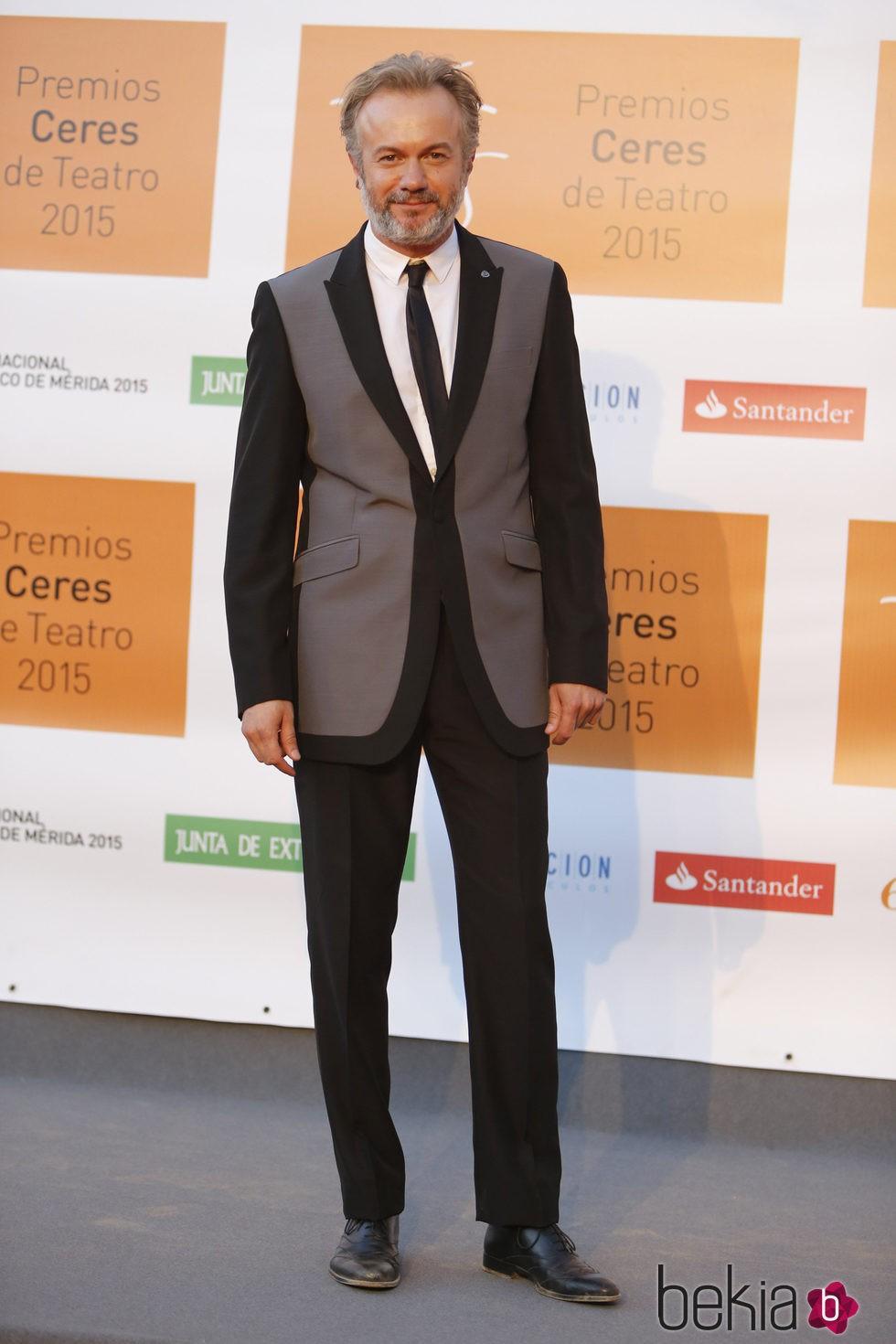 Tristán Ulloa en la entrega de los Premios Ceres 2015