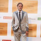 Nancho Novo en la entrega de los Premios Ceres 2015