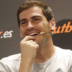 Iker Casillas muy feliz en su vuelta a Madrid tras mudarse a Oporto
