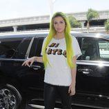 Kesha en el aeropuerto de Los Angeles