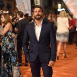Félix Gómez en el estreno de 'Carlos, Rey Emperador' en el FesTVal de Vitoria 2015