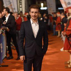Víctor Clavijo en el estreno de 'Carlos, Rey Emperador' en el FesTVal de Vitoria 2015