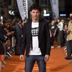 Eloy Azorín en el estreno de 'Apaches' en el FesTVal de Vitoria 2015
