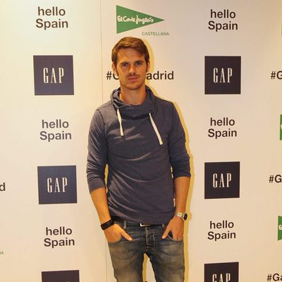 Gonzalo Ramos en la inauguración de un espacio de la firma GAP