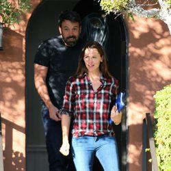 Ben Affleck y Jennifer Garner asisten juntos a terapia