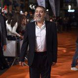 Enrique Villén en la presentación de 'Olmos y Robles' en el FesTVal de Vitoria 2015