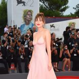 Dakota Johnson en el estreno de 'Black Mass' en la Mostra 2015
