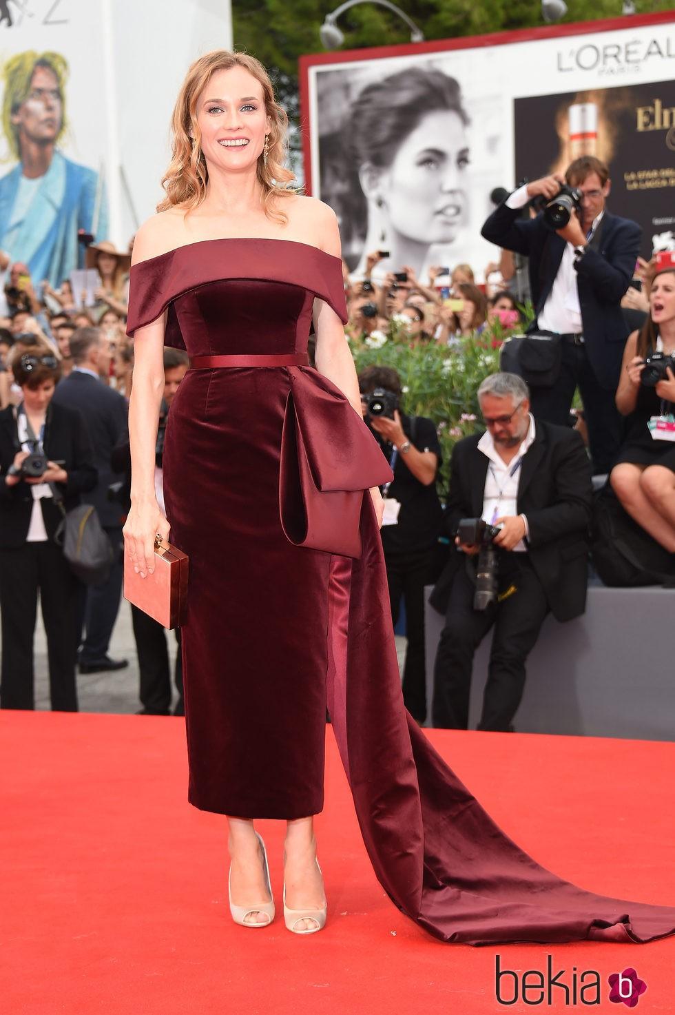 Diane Kruger en el estreno de 'Black Mass' en la Mostra 2015
