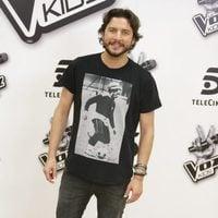 Manuel Carrasco en la presentación de la 'La Voz Kids 2'