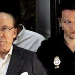 José María Ruiz-Mateos acudiendo a un juicio en Palma de Mallorca