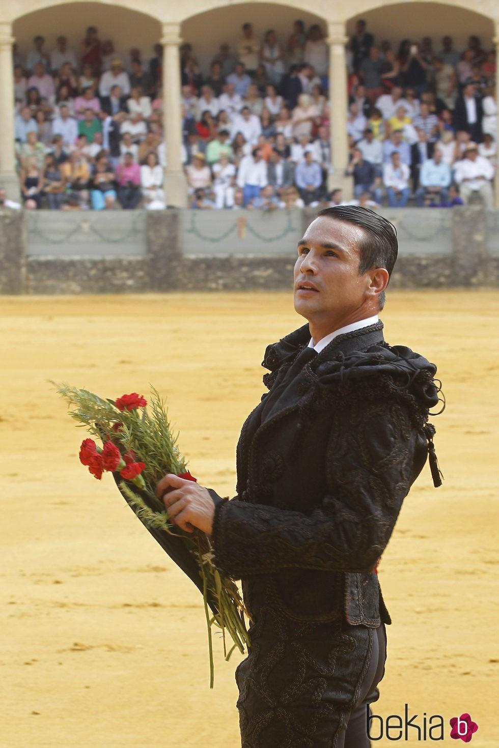 José María Manzanares en la Goyesca 2015