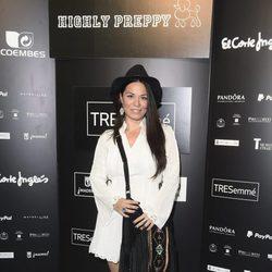 Ainhoa Cantalapiedra en el desfile de Bloomers en Madrid Fashion Show