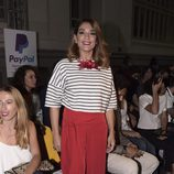 Raquel Bollo en el desfile de Bloomers en Madrid Fashion Show