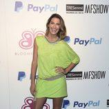 Laura Sánchez en el desfile de Bloomers en Madrid Fashion Show