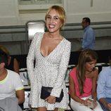 Berta Collado en el desfile de David Christian en Madrid Fashion Show Women