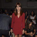 Nika en el desfile Mónica Cordera en el Madrid Fashion Show Women