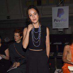 Verónica Sánchez en el desfile Mónica Cordera en el Madrid Fashion Show Women
