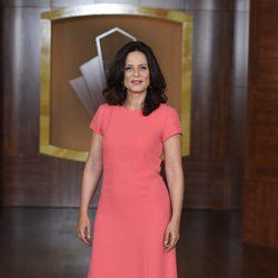 Aitana Sánchez Gijón en la presentación de la tercera temporada de 'Velvet'