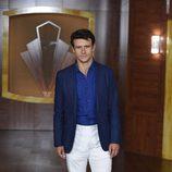 Diego Martín en la presentación de la tercera temporada de 'Velvet'