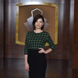 Miriam Giovanelli en la presentación de la tercera temporada de 'Velvet'