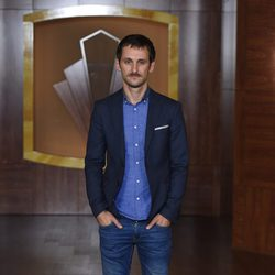 Raúl Arévalo en la presentación de la tercera temporada de 'Velvet'