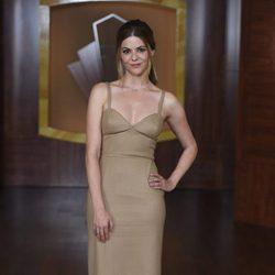Manuela Velasco en la presentación de la tercera temporada de 'Velvet'