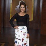 Paula Echevarría  en la presentación de la tercera temporada de 'Velvet'
