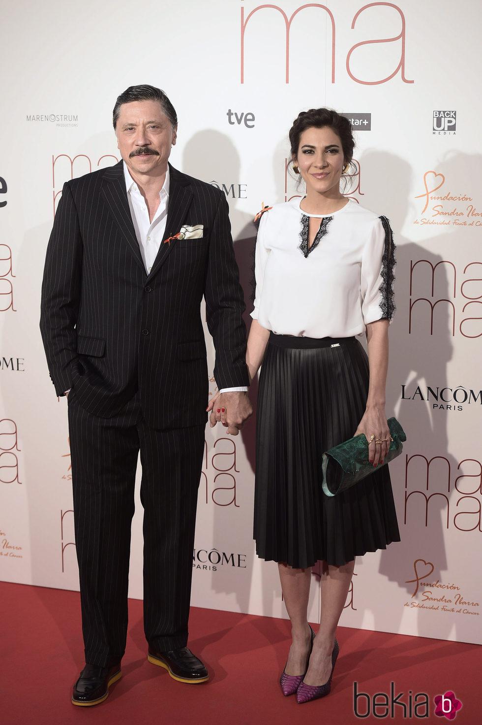 Carlos Bardem y Cecilia Gessa en el estreno de 'Ma ma'