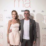 Sandra Ibarra y Juan Ramón Lucas en el estreno de 'Ma ma'