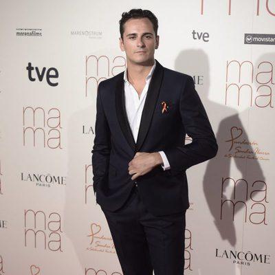 Asier Etxeandía en el estreno de 'Ma ma'