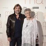 Pilar y Javier Bardem en el estreno de 'Ma ma'