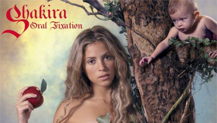 Portada del disco 'Oral Fixation vol. 2' de Shakira