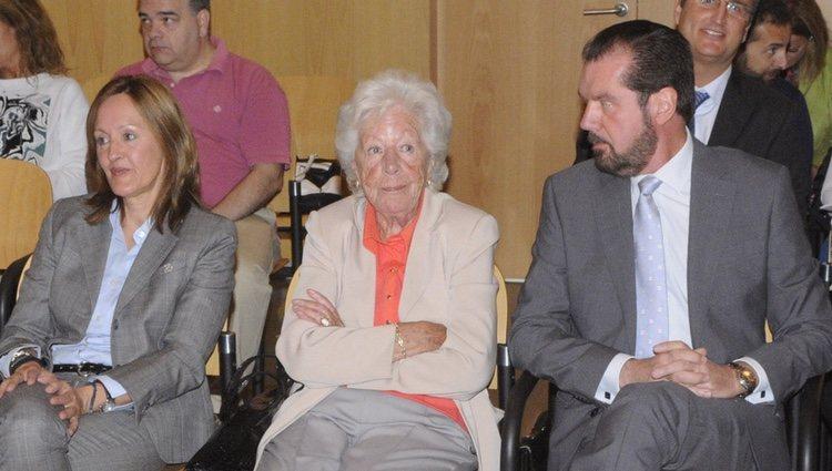 Henar Ortiz, Menchu Álvarez del Valle y Jesús Ortiz declaran por alzamiento de bienes