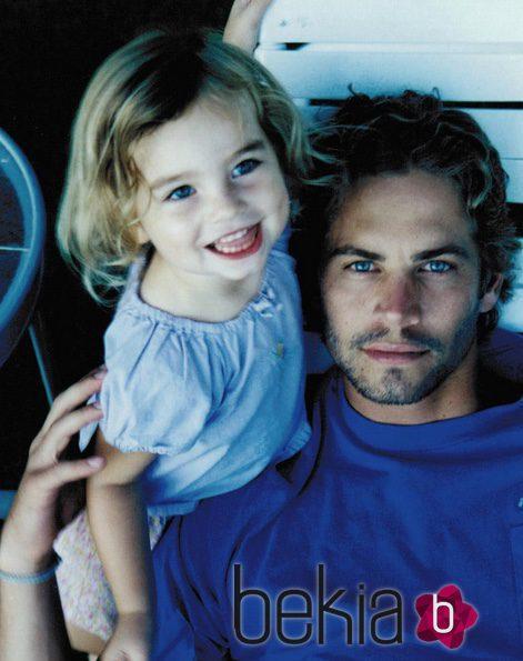 Meadow Walker sube imagen con su padre Paul Walker para recordarle
