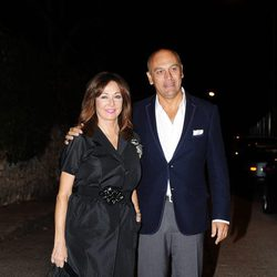 Ana Rosa Quintana y Juan Muñoz en la fiesta del 50 cumpleaños de Jesús Vázquez