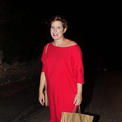 Tania Llasera en la fiesta del 50 cumpleaños de Jesús Vázquez