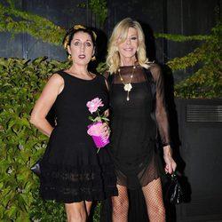 Rossy de Palma y Bibiana Fernández en la fiesta del 50 cumpleaños de Jesús Vázquez