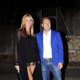 Alejandra Prat y Juan Manuel Alcaraz en la fiesta del 50 cumpleaños de Jesús Vázquez