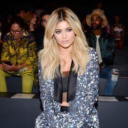 Kylie Jenner en el desfile de Prabal Gurung en la Nueva York Fashion Week primavera/verano 2016