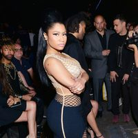 Nicki Minaj en el front row de la Nueva York Fashion Week primavera/verano 2016