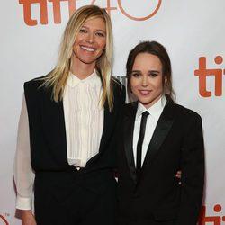 Ellen Page y su novia Samantha Thomas en el Festival de Cine de Toronto